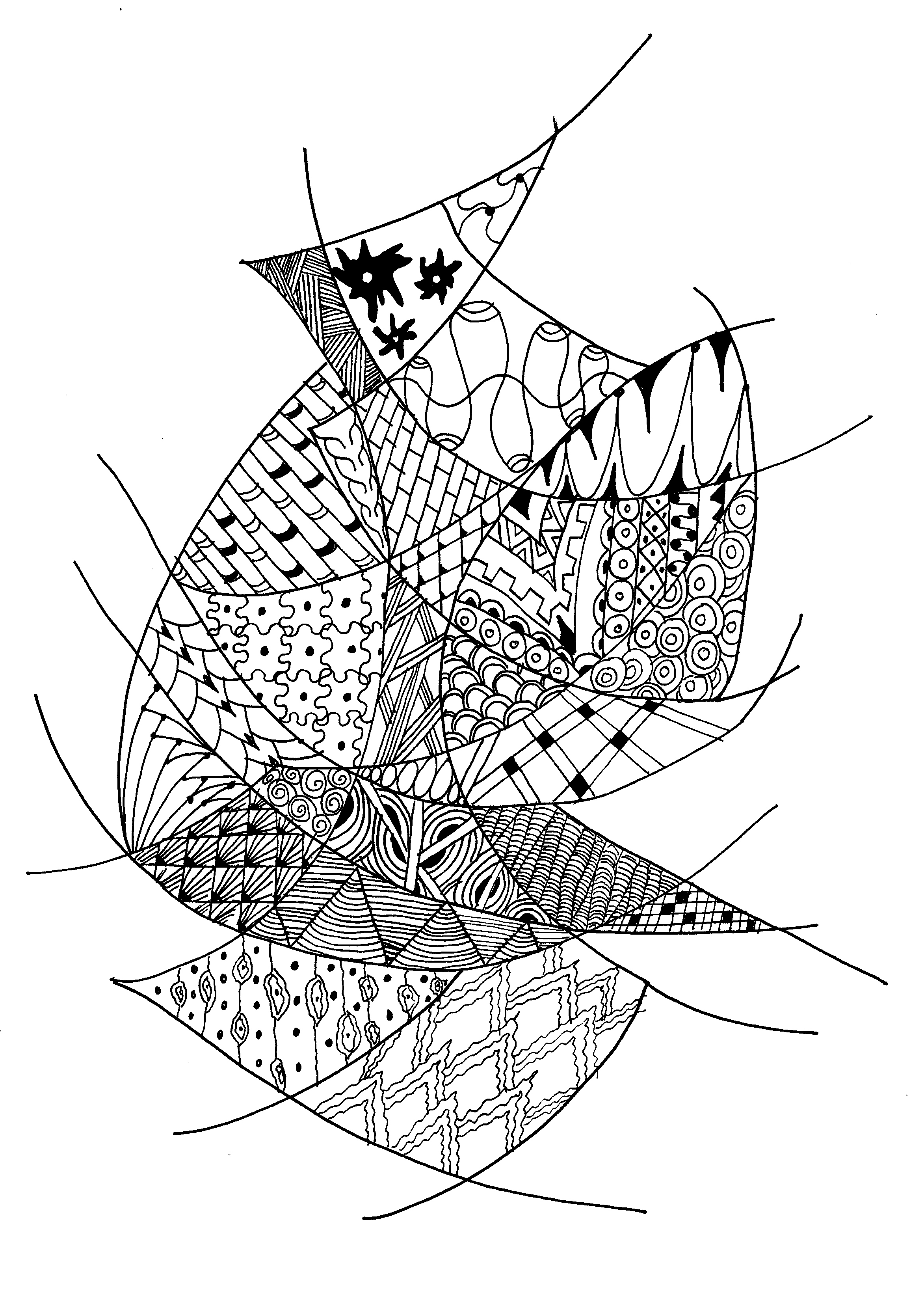 May 2013 The Journal Of A Struggling Artist 2000 Mitsubishi Eclipse Fuse Box Zentangle