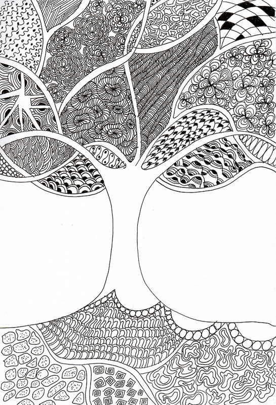 Line Art Zentangle : Zentangle patterns the journal of a struggling artist